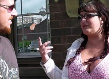 Two fat chicks in sexy lingerie having fun with a hot dude and then they fuck threesome