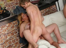 There is no better thing for her than rockhard dick drilling her ass.