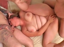 In this crazy fat girl orgy we see sucking and screwing of the highest order and the sluts are great